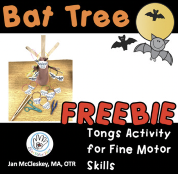 Bat Tree FREEBIE! For TONGS SKILLS