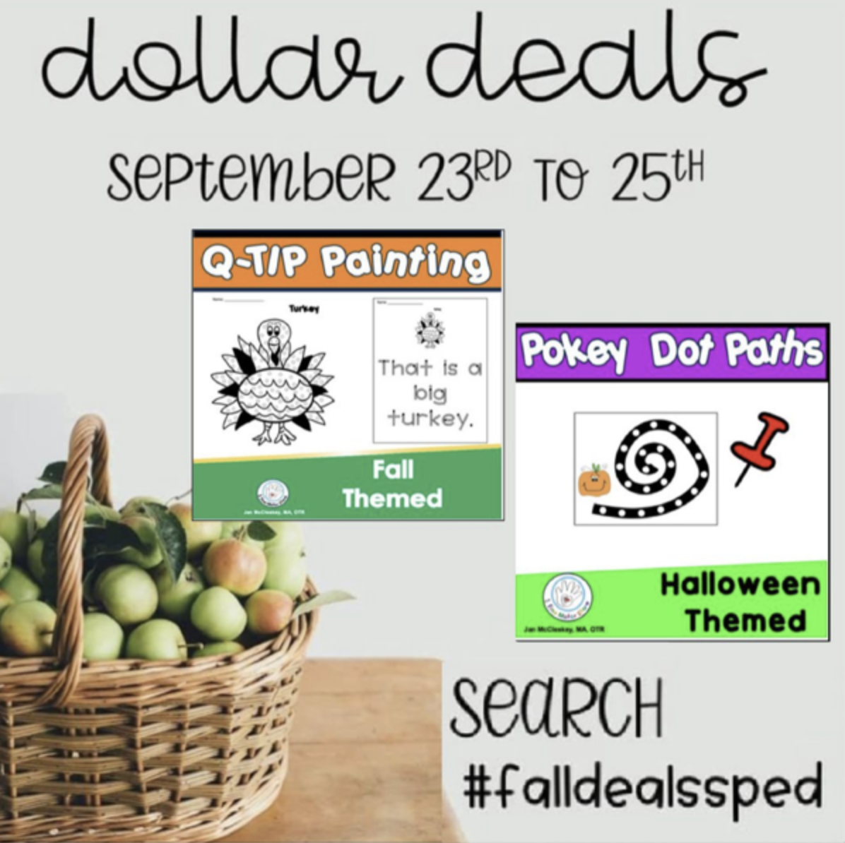Dollar Sale on TPT – Special Education  Sellers