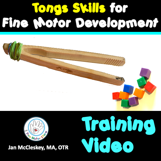 The Importance of Using Tongs for Fine Motor Development