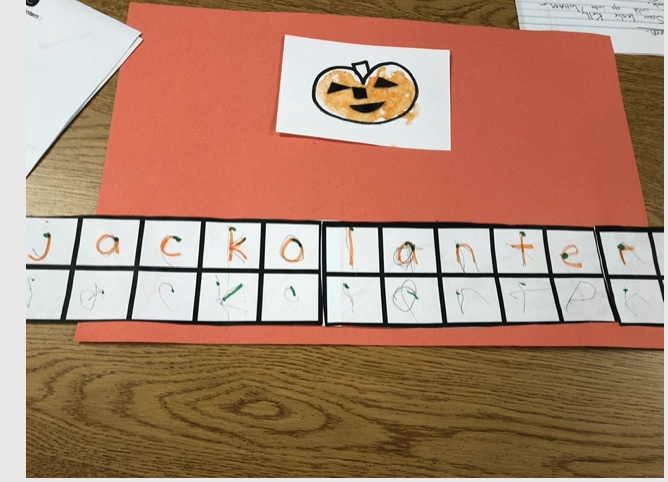 Differentiated Craft and Writing – Jello Jack-o-lantern