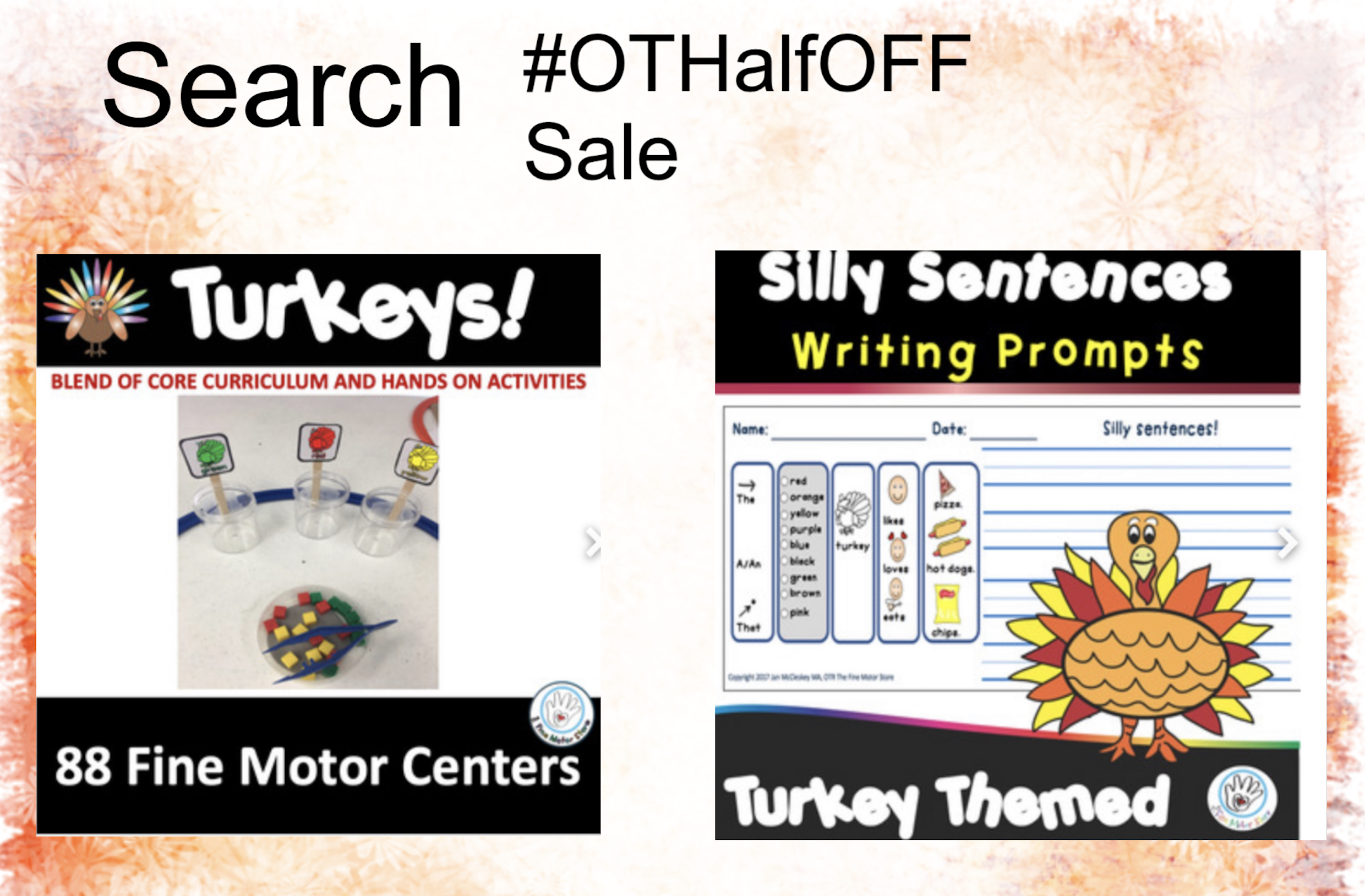 Half Off Sale – November 1 only!