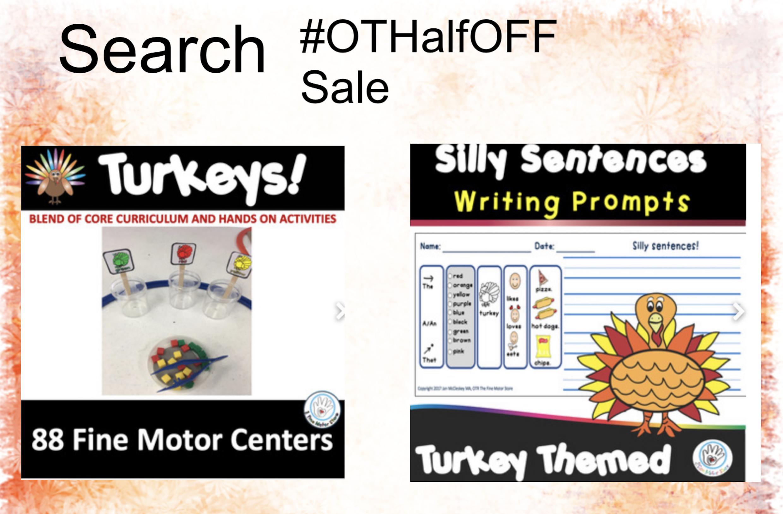 Half Off Sale – November 1 only!